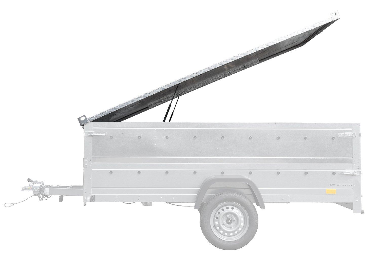 Pokrywa aluminiowa do przyczepy GARDEN TRAILER 150 KIPP