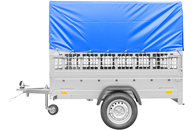 Przyczepa z DMC do 750 kg lekka GARDEN TRAILER 201 KIPP